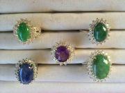 ขาย แหวนหยก แหวนทับทิม แหวนนิหร่า เครื่องประดับมาใหม่ ราคาถูก จำนวนจำกัด