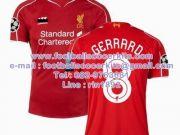 เสื้อฟุตบอลสโมสรลิเวอร์พูลเหย้า ฤดูกาล 2014-2015 ยูฟ่าแชมเปียนส์ลีก GERRARD8