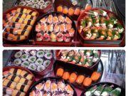 ขายซูชิ แสนอร่อย 5 บาท ต่อชิ้นติดต่อ ตาล 084-073-1275 และ 086-380-2351