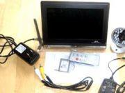 Baby monitor ราคาถูก 6900 บาท จอ LCD ดูภาพได้ทั้งกลางวันและกลางคืน ภาพคมชัด