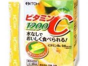 ITOH Vitamin C วิตามินซีผงละลายน้ำ ให้วิตามินซีสูง 1200 มก บำรุงผิวให้ขาวใส ลดผิวหมองคล้ำจากแสงแดด ร