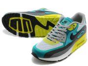 Nike Air Max WM สีเทาพื้นดำคาดเหลือง