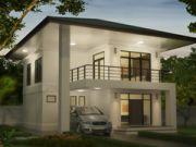 รับออกแบบบ้าน แบบบ้านสองชั้น TROPICAL3ห้องนอน 3ห้องน้ำ155 ตรม TR-H2-15501