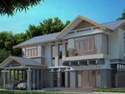 ขายแบบบ้าน แบบบ้านสองชั้น CONTEMPORARY4ห้องนอน 4ห้องน้ำ292 ตรม CO-H2-29201