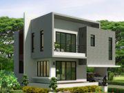 รับออกแบบบ้าน แบบบ้านสองชั้น MODERN2ห้องนอน 3ห้องน้ำ18575 ตรม MO-H2-18575