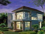 รับสร้างบ้านหรู แบบบ้านสองชั้น CONTEMPORARY 4ห้องนอน 3ห้องน้ำ 150 ตรม CO-H2-1622