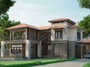 รับเหมาก่อสร้าง แบบบ้านสองชั้น TROPICAL 3ห้องนอน 4ห้องน้ำ 286 ตรม TR-H2-2860102