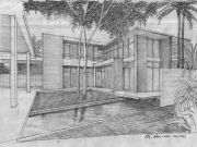 บริษัทรับสร้างบ้าน แบบบ้านสองชั้น MODERN 4ห้องนอน 3ห้องน้ำ 321 ตรม MO-H2-3210102