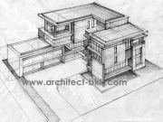 ขายแบบบ้าน แบบบ้าน 3 ชั้น MODERN 9ห้องนอน 8ห้องน้ำ 1077 ตรม MO-H3-10770102