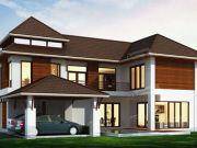 รับสร้างบ้านคุณภาพสูง แบบบ้านสองชั้น TROPICAL 3ห้องนอน 3ห้องน้ำ 1985 ตรม TR-H2-308