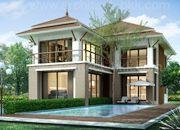 บริษัทรับสร้างบ้าน แบบบ้านสองชั้น CONTEMPORARY 5ห้องนอน 4ห้องน้ำ 316 ตรม CO-H2-3160103