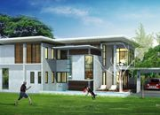 บริษัทรับสร้างบ้าน แบบบ้านสองชั้น MODERN 4ห้องนอน 5ห้องน้ำ 311 ตรม MO-H2-3110103