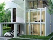รับเหมาก่อสร้าง แบบบ้าน 3 ชั้น MODERN 4ห้องนอน 5ห้องน้ำ 376 ตรม MO-H3-3760103