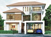 รับเหมาก่อสร้างบ้าน แบบบ้าน 3 ชั้น TROPICAL 7ห้องนอน 4ห้องน้ำ 341 ตรม TR-H3-3410104