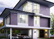 รับออกแบบบ้าน แบบบ้าน 3 ชั้น MODERN 2ห้องนอน 2ห้องน้ำ 155 ตรม MO-H3-1550104