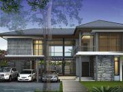 รับสร้างบ้าน แบบบ้านสองชั้น MODERN 4ห้องนอน 5ห้องน้ำ 260 ตรม BB-H2-3000106