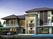 รับสร้างบ้าน แบบบ้าน 3 ชั้น TROPICAL 5ห้องนอน 6ห้องน้ำ 630 ตรม TR-H3-60706