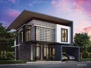 รับเหมาก่อสร้างบ้าน แบบบ้านสองชั้น MODERN 2ห้องนอน 3ห้องน้ำ 150 ตรม BB-H2-1500106