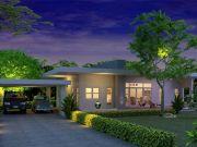 รับออกแบบบ้าน แบบบ้านชั้นเดียว MODERN 2ห้องนอน 1ห้องน้ำ 130 ตรม MO-H1-11201