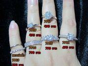 จำหน่ายแหวนเพชร ต่างหู สร้อยคอ CZ Diamond เกรด AAA รับสมัครตัวแทนจำหน่าย