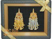 ของชำร่วย ของที่ระลึก ของพรีเมียมแบบไทย กรอบรูปไทย กรอบรูปช้าง หัวโขน รำไทย