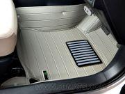 พรมปูพื้นรถยนต์ 5D รุ่น ALTIS 2008-2013 Leather สีเทา