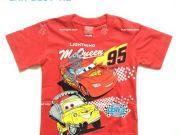 เสื้อผ้าเด็กราคาถูก - เสื้อคอกลมเด็ก CARS CAR-1197-RE เริ่มที่ 150 บาท