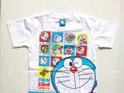 เสื้อผ้าเด็กราคาถูก - เสื้อคอกลมเด็ก Doraemon DRM-2026-WH เริ่มที่ 140 บาท