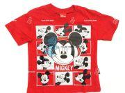 เสื้อผ้าเด็กราคาถูก - เสื้อคอกลมเด็ก ลาย มิ้กกี้เมาส์ MK-5883-RE เริ่มที่ 150 บาท