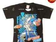 เสื้อผ้าเด็กราคาถูก - เสื้อคอกลมเด็ก ลาย Transformer TFM-255-BK เริ่มที่ 150 บาท