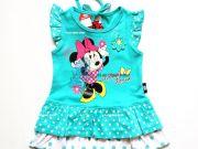เสื้อผ้าเด็กราคาถูก - ชุดแฟชั่นเด็กลาย Minnie Mouse MN-1875-BU เริ่มที่ 260 บาท