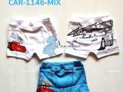 เสื้อผ้าเด็กราคาถูก - กางเกงในเด็ก ลาย cars CAR-1146-MIX เริ่มที่ 200 บาท