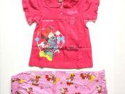 เสื้อผ้าเด็กราคาถูก - ชุดนอนเด็ก ลายมินนี่เม้าส์แขนสั้นขายาว MN-1778-DKPI เริ่มที่ 300 บาท