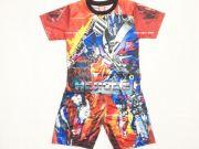 เสื้อผ้าเด็กราคาถูก - ชุดเซ็ท Transformer ผ้าโพลีเอสเตอร์ TFM-270-RE เริ่มที่ 250 บาท