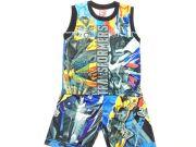 เสื้อผ้าเด็กราคาถูก - ชุดเซ็ท Transformer ผ้าโพลีเอสเตอร์ TFM-320-BK เริ่มที่ 250 บาท