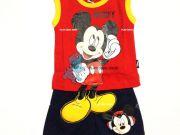 เสื้อผ้าเด็กราคาถูก - ชุดเซ็ท Mickey Mouse แขนกุด MK-5929-RE เริ่มที่ 240 บาท