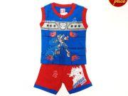 เสื้อผ้าเด็กราคาถูก - ชุดเซ็ทเด็ก Transformer TFM-307-BL เริ่มที่ 240 บาท