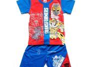 เสื้อผ้าเด็กราคาถูก - ชุดเซ็ท Transformer ผ้าโพลีเอสเตอร์ TFM-229-RE เริ่มที่ 280 บาท