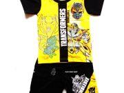 เสื้อผ้าเด็กราคาถูก - ชุดเซ็ท Transformer ผ้าโพลีเอสเตอร์ TFM-229-YE เริ่มที่ 280 บาท