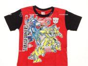 เสื้อผ้าเด็กราคาถูก - เสื้อคอกลมเด็ก ลาย Transformer TFM-314-RE เริ่มที่ 150 บาท