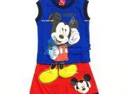 เสื้อผ้าเด็ก คุณภาพดี ราคาถูก - ชุดเซ็ท Mickey Mouse แขนกุด MK-5929-BU เริ่มที่ 240 บาท