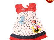เสื้อผ้าเด็ก คุณภาพดี ราคาถูก - ชุดเดรส Minnie Mouse MN-1981-RE เริ่มที่ 360 บาท