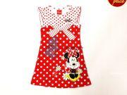 เสื้อผ้าเด็ก คุณภาพดี ราคาถูก - ชุดแฟนชั่น Minnie Mouse MN-1730-RE เริ่มที่ 300 บาท