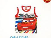 เสื้อผ้าเด็ก คุณภาพดี ราคาถูก - เสื้อแขนกุด คาร์ CAR-1227-RE เริ่มที่ 130 บาท