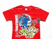 หาซื้อเสื้อผ้าเด็กอยู่หรือป่าว - เสื้อคอกลมเด็ก Transformer TFM-213-RE เริ่มที่ 150 บาท