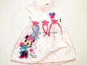 หาซื้อเสื้อผ้าเด็กอยู่หรือป่าว - ชุดเดรส มินนี่เม้าส์ MN-1945-WH เริ่มที่ 400 บาท