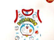 หาซื้อเสื้อผ้าเด็กอยู่หรือป่าว - เสื้อแขนกุด โดราเอมอน DRM-2022-RE เริ่มที่ 160 บาท