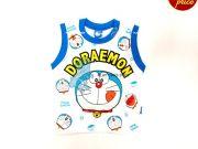 หาซื้อเสื้อผ้าเด็กอยู่หรือป่าว - เสื้อแขนกุด โดราเอมอน DRM-2022-BU เริ่มที่ 160 บาท