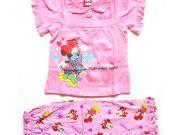 เสื้อผ้าเด็ก คุณภาพพรีเมี่ยม - ชุดนอนเด็ก ลายมินนี่เม้าส์แขนสั้นขายาว MN-1778-LTPI เริ่มที่ 300 บาท
