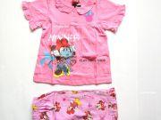 เสื้อผ้าเด็ก คุณภาพพรีเมี่ยม - ชุดนอนเด็ก ลายมินนี่เม้าส์แขนสั้นขาสั้น MN-1777-LTPI เริ่มที่ 270 บาท